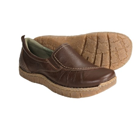 Earth Union Slip-On Shoes - Leather (For Women)