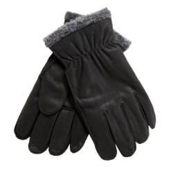 Cire by Grandoe Pilot II Gloves - Sheepskin Leather, Fleece Lining (For Men)