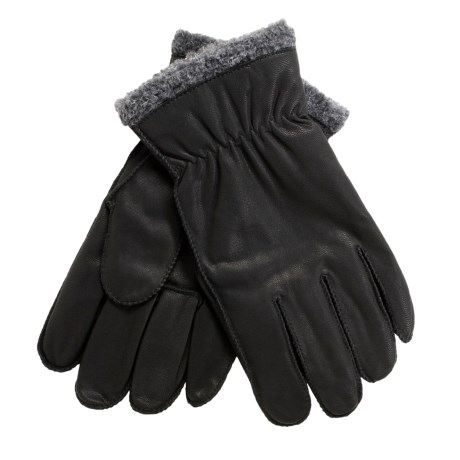 Cire by Grandoe Pilot II Gloves - Sheepskin Leather, Fleece Lining (For Men)