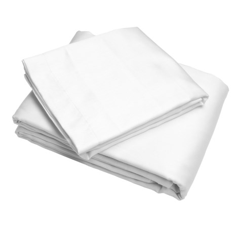 Melange Home Cotton Sateen Duvet Set - King, 300TC