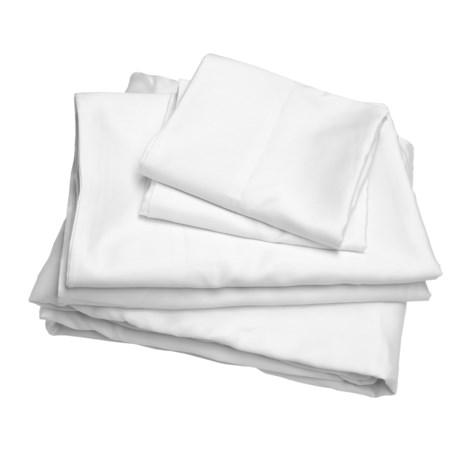 Melange Home Sateen Sheet Set - Full, 300TC
