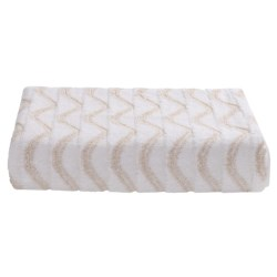 Lintex Amalfi Jacquard Bath Towel - Zero Twist Cotton