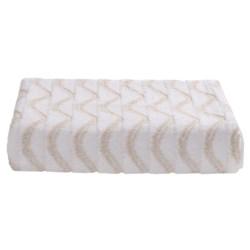 Lintex Amalfi Jacquard Washcloth - Zero Twist Cotton