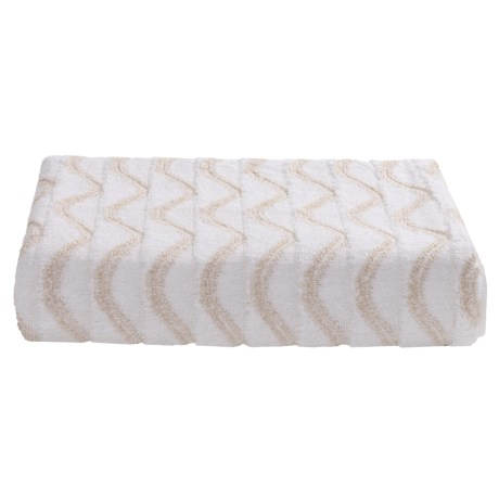 Lintex Amalfi Jacquard Washcloth - Zero Twist Cotton