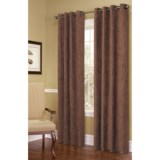 "Commonwealth Home Fashions Garbo Herringbone Curtains - 100x84"", Grommet-Top"