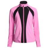 Zen 101 Multicolor Fitness Jacket (For Women)