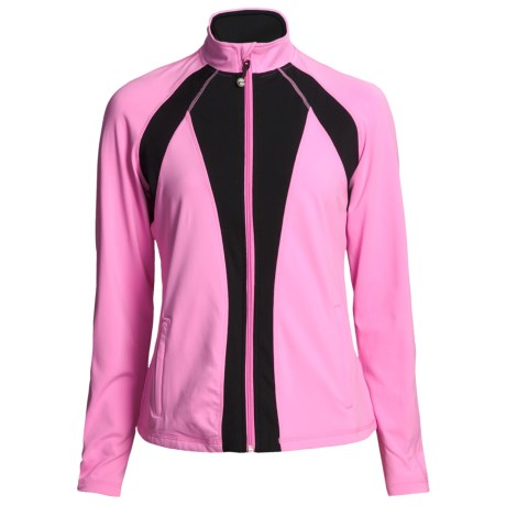 Zen 101 Multicolor Fitness Jacket (For Women)