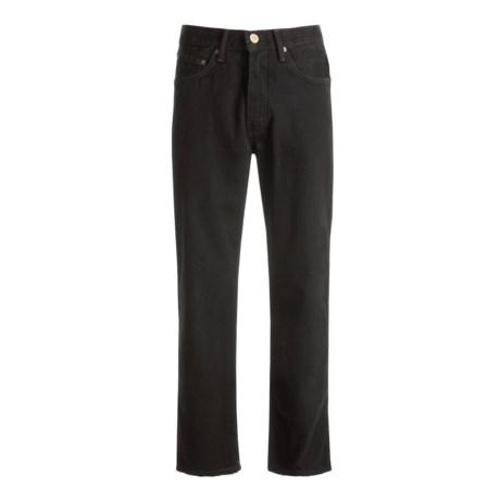 Relaxed Fit Denim Jeans - 5-Pocket (For Men)