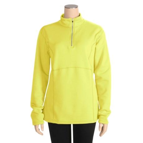 Obermeyer Top II Fleece Pullover Shirt - Zip Neck, Long Sleeve (For Women)