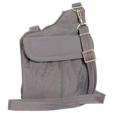 Travelon Anti-Theft Signature Slim Crossbody Bag (For Women)
