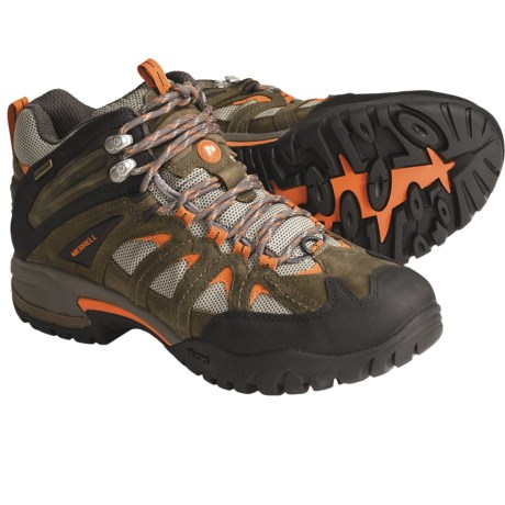 Merrell Ridgeline Mid Ventilator Hiking Boots - Waterproof (For Men)