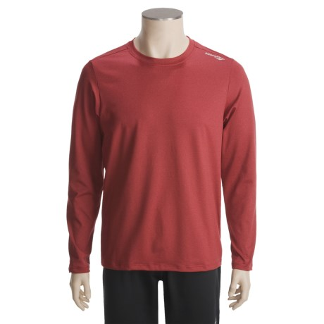 Saucony Evolution LX Shirt - UPF 50+ Long Sleeve (For Men)