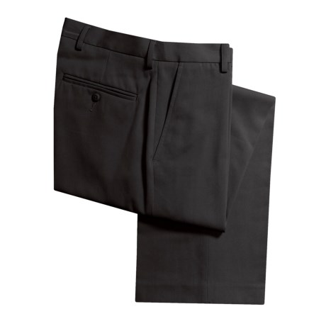 Flat-Front Dress Pants (For Men)