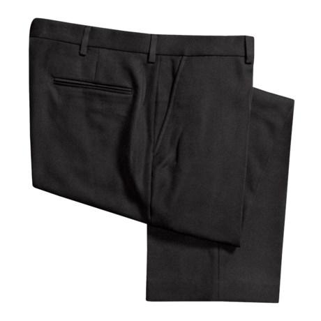 Flat-Front Dress Pants (For Men)