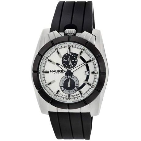 Haurex Chronograph Watch - Rubber Strap