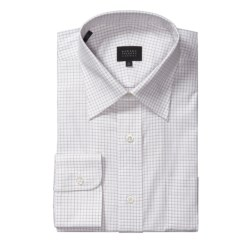 Robert Talbott Satin Micro Check Dress Shirt - Long Sleeve (For Men)
