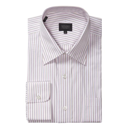 Robert Talbott Latte Multi-Stripe Dress Shirt - Long Sleeve (For Men)