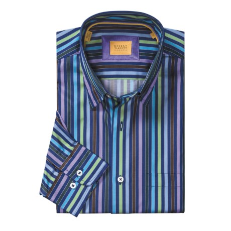 Robert Talbott Multi-Stripe Sport Shirt - Long Sleeve (For Men)