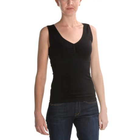 Renuar Seamless Knit Shirt - V-Neck, Sleeveless (For Women)