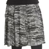 Renuar Printed Jersey Skirt (For Women)