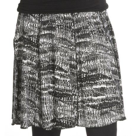 Renuar Printed Jersey Skirt (For Women)