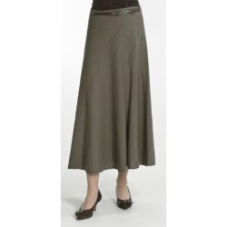 Renuar Washed Linen-Rich Skirt (For Women)