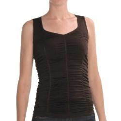 Renuar Shirred Knit Shirt - Sleeveless (For Women)