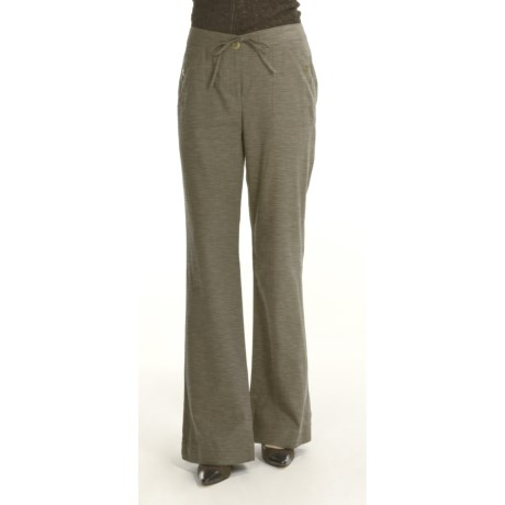 Renuar Rich London Fit Pants - Washed Linen, Bootcut (For Women)