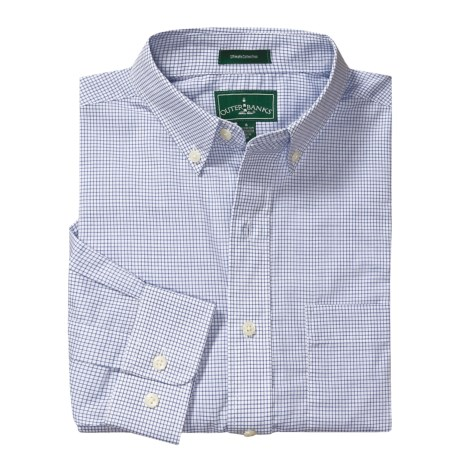 Outer Banks Ultimate Wrinkle-Resistant Dress Shirt - Cotton Poplin, Long Sleeve (For Men)