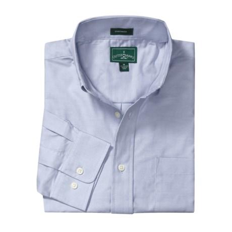 Outer Banks Ultimate Wrinkle-Resistant Dress Shirt - Cotton Oxford, Long Sleeve (For Men)