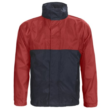 Outer Banks Pack Away Jacket - Lightweight, Hidden Hood (For Men and Women)
