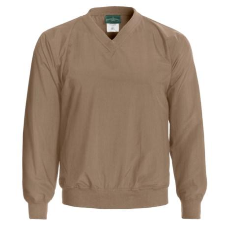 Outer Banks Rib V-Neck Wind Shirt - Long Sleeve (For Men and Women)