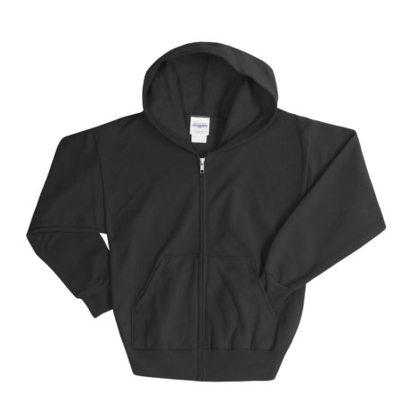 Hanes ComfortBlend® Hoodie Sweatshirt - Full-Zip (For Youth)