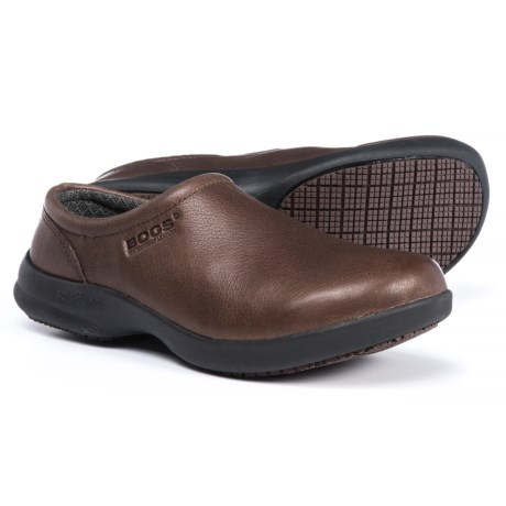 Bogs Footwear Ramsey Leather Clogs - Slip-Ons (For Women)