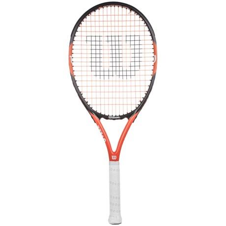 Wilson Nitro Team 105 Tennis Racquet - 105 sq.in.