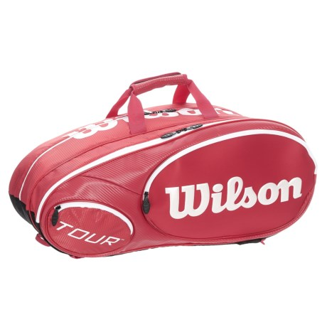 "Wilson Mini Tour 6 Pack Tennis Bag - Fits 26"" Racquets"