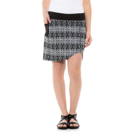 Carve Designs Bristol Asymmetrical Skort - Built-In Liner Shorts (For Women)