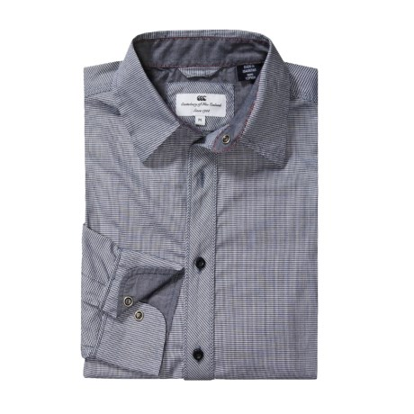 Canterbury Jarrod Shirt - Long Sleeve, Contrast Collar and Cuffs (For Men)