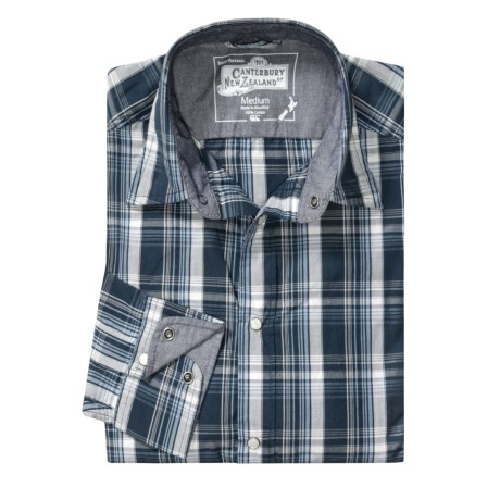 Canterbury Drew Plaid Shirt - Long Sleeve (For Men)
