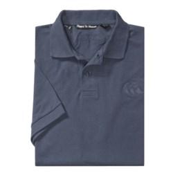 Canterbury of New Zealand Logo Polo Shirt - Twill Pique, Short Sleeve (For Men)