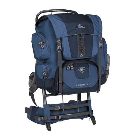 High Sierra Foxhound 50 Backpack - External Frame
