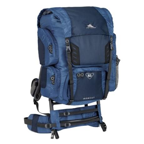 High Sierra Bobcat 65 Backpack - External Frame