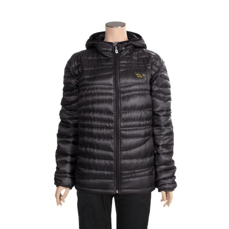 Mountain Hardwear Nitrous Down Hooded Jacket - 800 Fill Power (For Women)