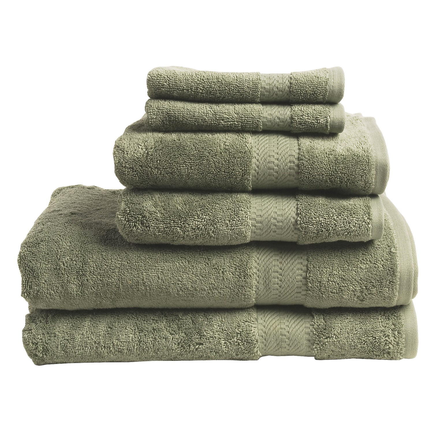 Home Source Supima Cotton Towel Set 6 Piece 3902x
