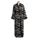 Diamond Tea Robe - Printed Wrap (For Women)