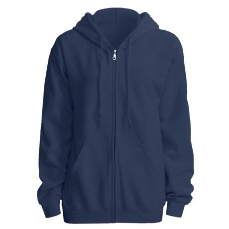 Gildan 7.5 oz. 50/50 Hoodie - Zip (For Men and Women)