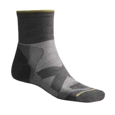 Lorpen TMS Hiking Socks - Quarter-Crew, 2 Pack (For Men and Women)