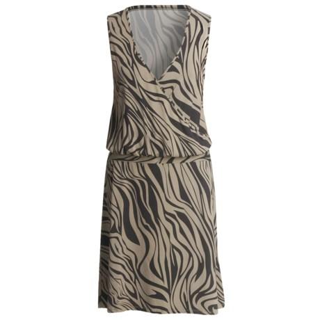 Specially made V-Neck Dress - Sleeveless (For Women)