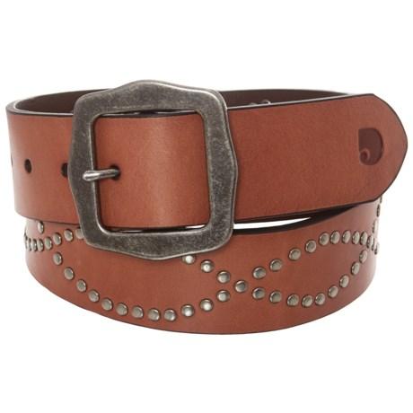 Carhartt Studded Leather Belt (For Women)