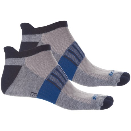 Brooks Ghost Midweight Running Socks - 2-Pack, Below the Ankle (For Men and Women)